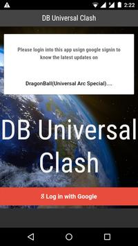 DB Universal Clash screenshot 1