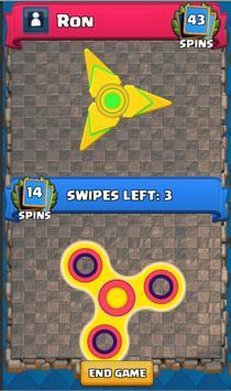 Ultimate Fidget Spinner Multiplayer screenshot 2