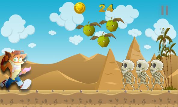 Ultimate Adventure Brave Bandicoot apk screenshot