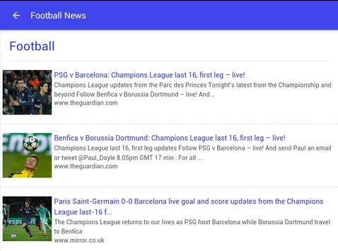 Live Sports News poster