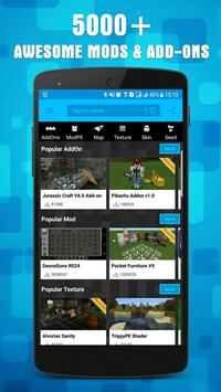 Mods for MCPE poster