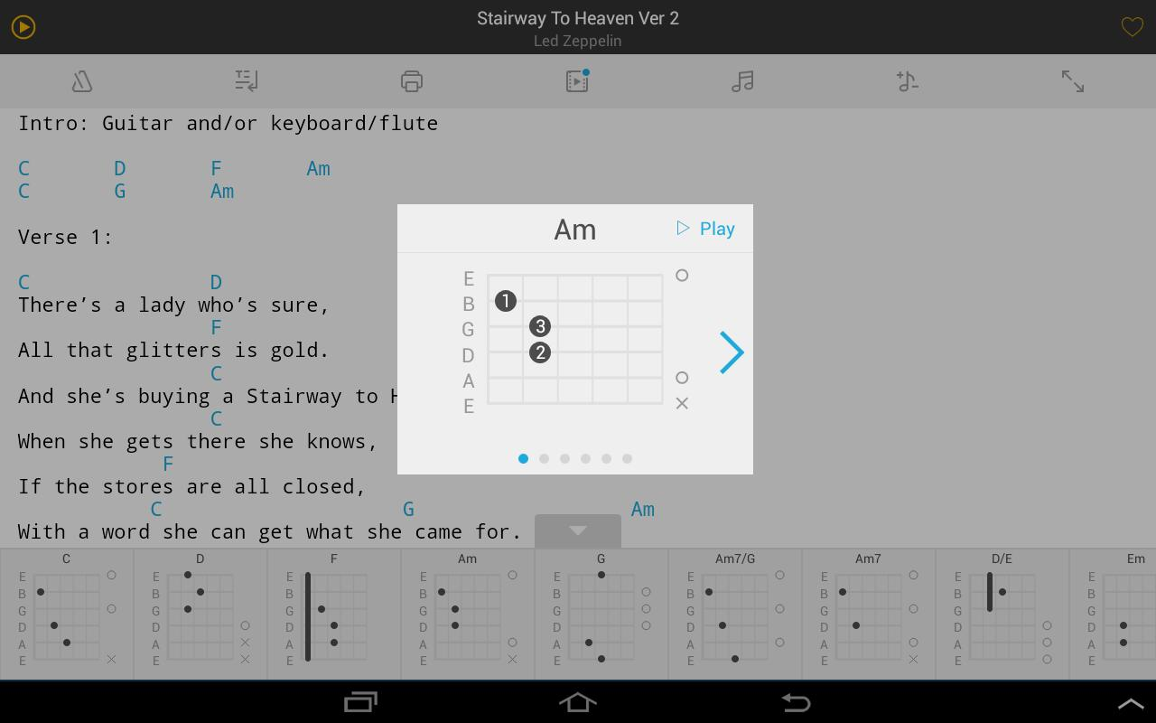 Tabs Chords Apk Download Free Music Audio App For Android