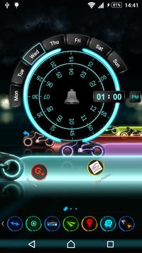 TSF Shell Theme Tron apk screenshot