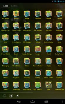 ColorMix Thu GO Launcher Theme screenshot 1