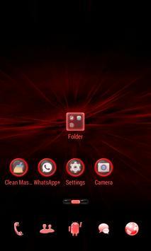Red Light Go Launcher Theme apk screenshot