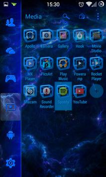 SL Blue Thunder Theme screenshot 1