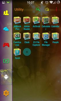 SL Color Mix Thunder Theme apk screenshot
