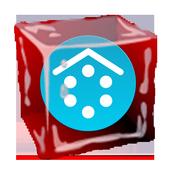 SL Ice Cube Red Theme icon