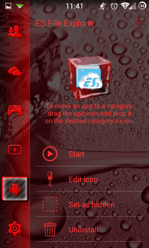 SL Ice Cube Red Theme screenshot 2