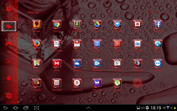 SL Ice Cube Red Theme screenshot 5