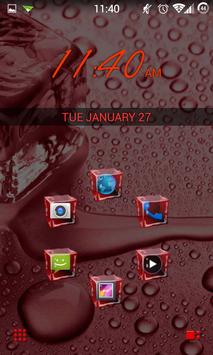 SL Ice Cube Red Theme screenshot 6