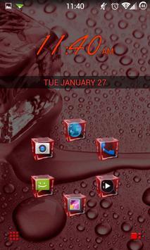 SL Ice Cube Red Theme apk screenshot