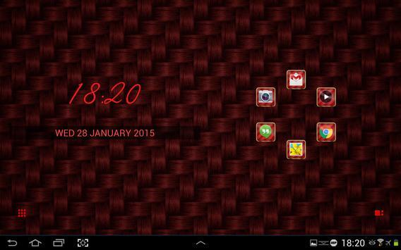 SL Red Carbon Theme screenshot 4