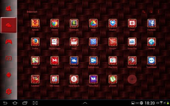 SL Red Carbon Theme screenshot 5
