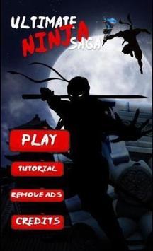Ultimate Ninja Saga poster