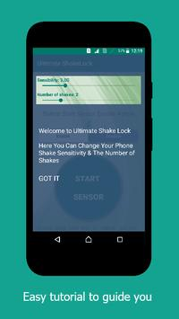 Ultimate ShakeLock apk screenshot