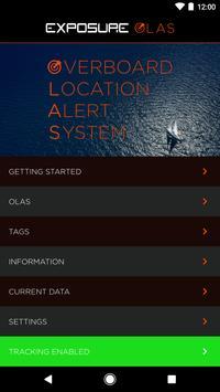 OLAS - Man overboard alarm poster