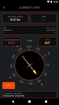 OLAS - Man overboard alarm apk screenshot