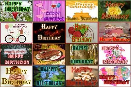 Birthday Wallpaper poster