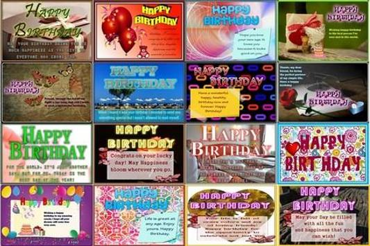 Birthday Wishes poster