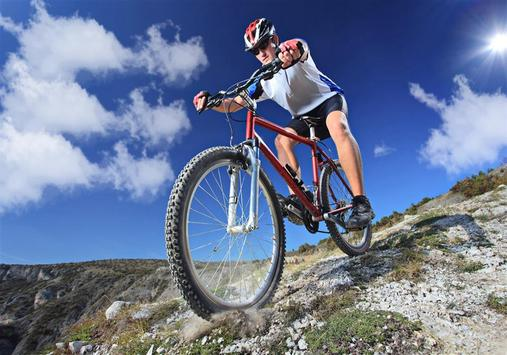 Mountain Bike Sport Puzzles poster