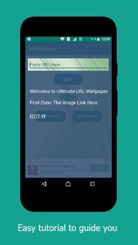 Ultimate URL Wallpaper apk screenshot
