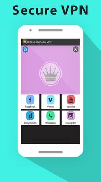 King VPN Unblock Websites 2017 apk screenshot