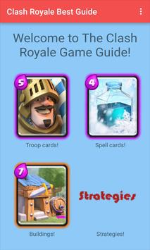 Guide For Clash Royale poster