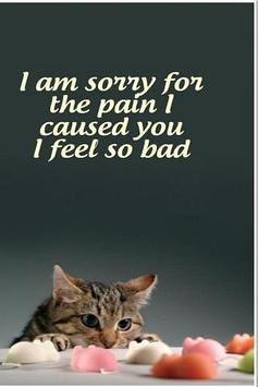 Sorry Greeting Cards Free poster