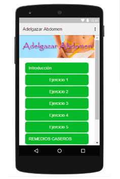 Adelgazar Abdomen apk screenshot