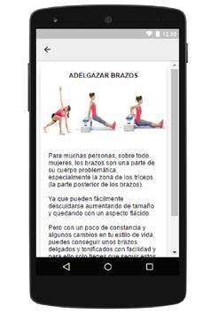 Adelgazar Brazos screenshot 2