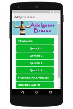 Adelgazar Brazos screenshot 4