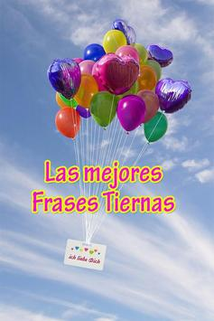 Frases Tiernas poster