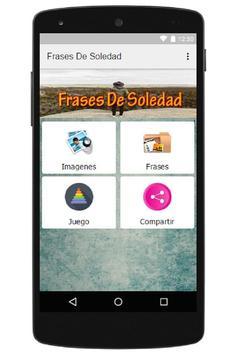 Frases De Soledad apk screenshot