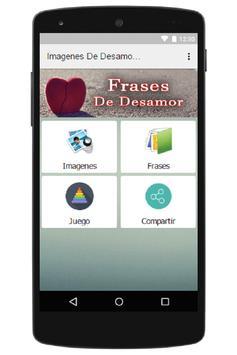 Imagenes De Desamor Con Frases apk screenshot