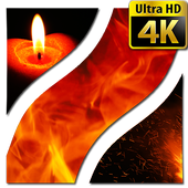 Fire Wallpapers 4K UHD icon