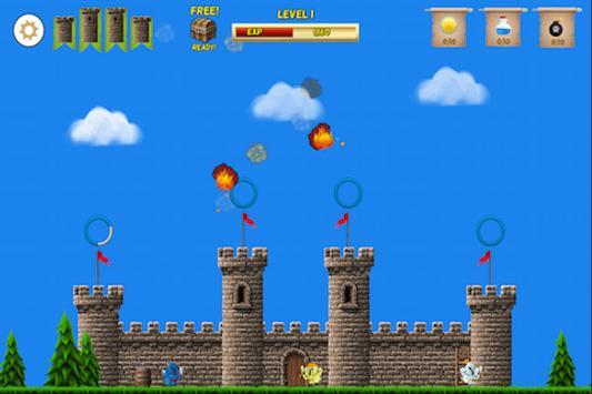 2D Castle Defender screenshot 1