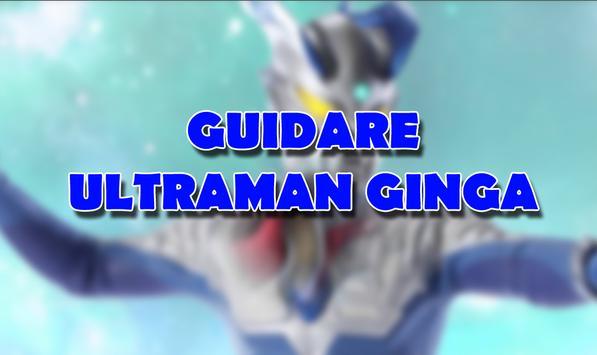 Guidare Ultramaan Ginga poster