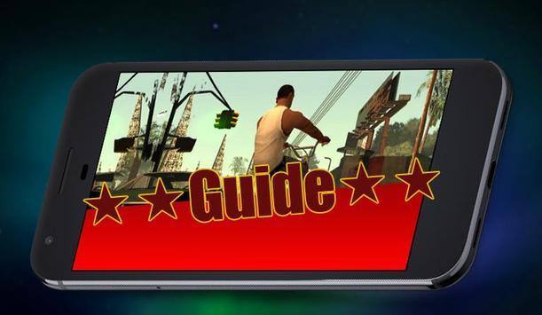 Guide for SanAndreas poster