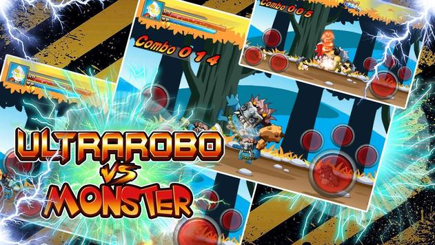 Ultra robo fight Monster Man apk screenshot