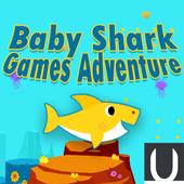 Baby Shark Games Adventure icon