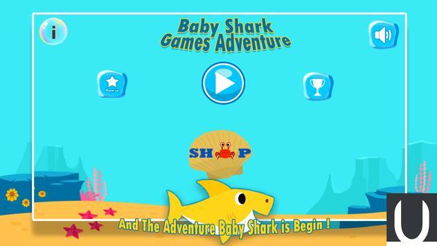 Baby Shark Games Adventure poster