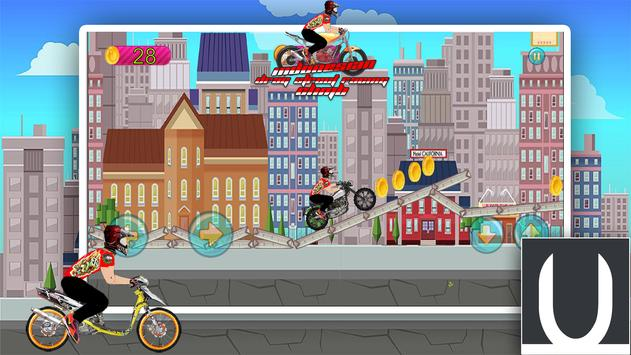 Indonesian Drag Bike Street Racing Climb screenshot 3