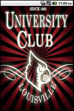 University Club of UofL poster