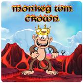 Monkey Win Crown icon