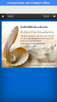 Audio Ustadz Jefri Al-Bukhori Offline screenshot 2
