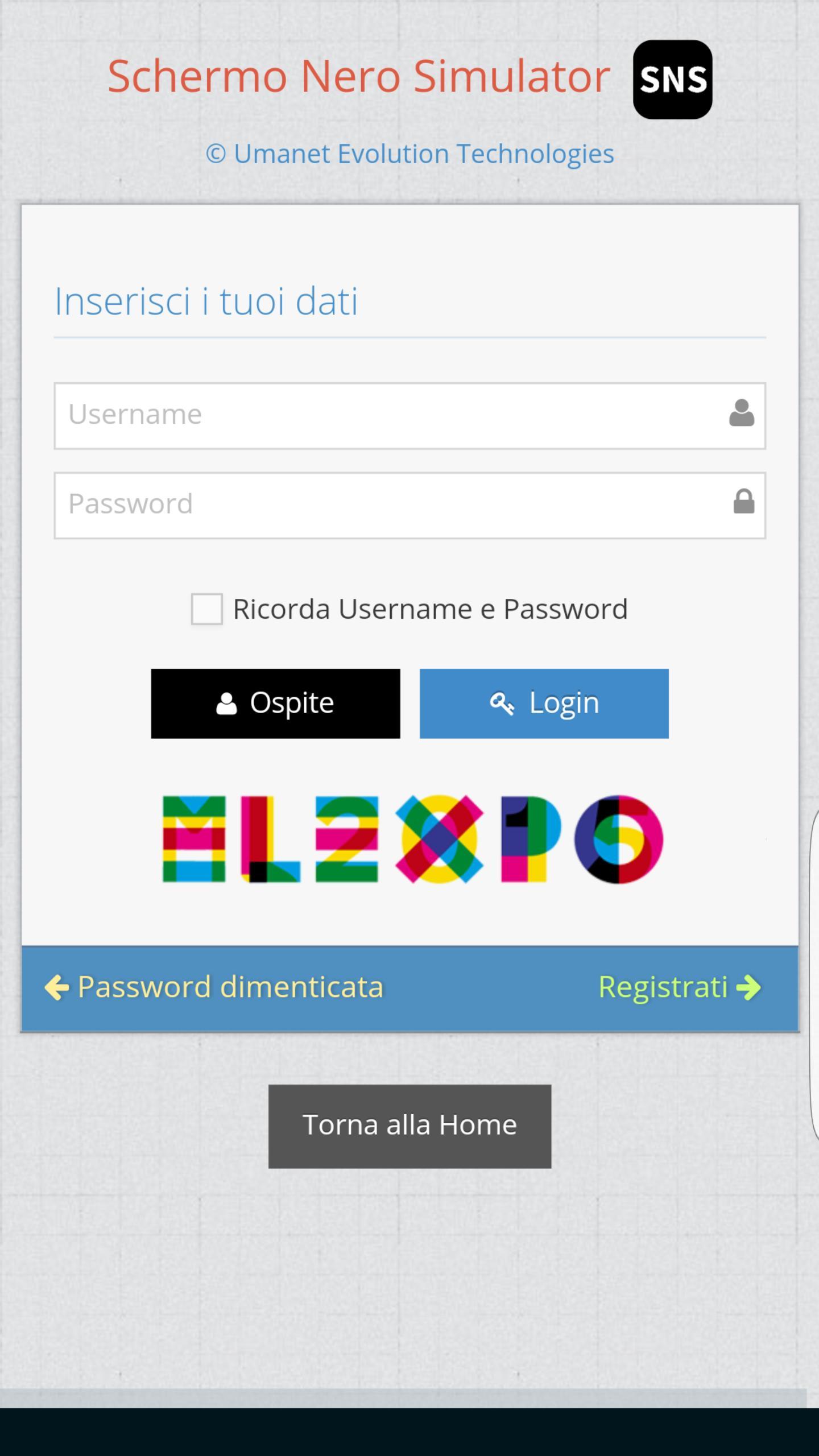 Uno Studio In Nero schermo nero simulator for android - apk download