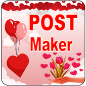 Love Post Maker -Text on Photo  Stylish Post Maker icon