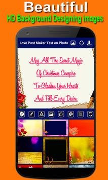 Love Post Maker -Text on Photo  Stylish Post Maker poster