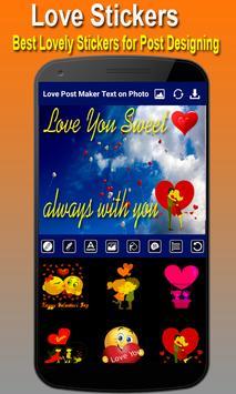 Love Post Maker -Text on Photo  Stylish Post Maker screenshot 2